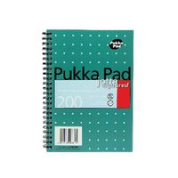 Pukka Pad A5 Metallic Square Jotta Notepads, Pack of 3 - JM021SQ