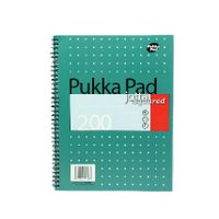 Pukka Pad A4 Metallic Square Jotta Notepads, Pack of 3 - JM018SQ