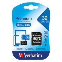 Verbatim Micro SDHC Memory Card
