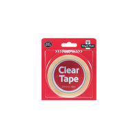 PostPak 19mm x 66m Clear Tape Medium Roll<TAG>BESTBUY</TAG>