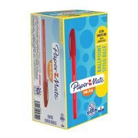 Paper Mate Inkjoy 100 Ball Red Pens, Pack of 50 - S0957140