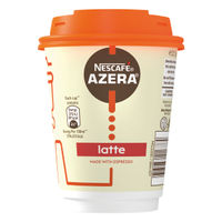 Nescafe Azera To Go Latte Cup and Lids (Pack of 6) 12347851