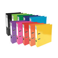 View more details about Iderama Assorted A4 Lever Arch Files, 70mm, Pack of 10 - 53629E