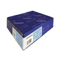 View more details about Guildhall GLX Ergogrip Ring Binder Frosted A4 Blue (Pack of 2) 4542