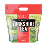 View more details about Yorkshire Tea Bags, Pack of 600 - 1108
