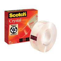 Scotch Tape - 19mm x 33m Crystal Clear Tape - 600