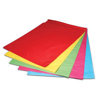 Flexocare Rainbow Coloured Tissue Paper, 500 x 750mm, 25 Sheets - 36051351