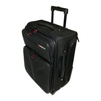 Monolith Black Wheeled Laptop Overnight Case for Laptop to 15.4
