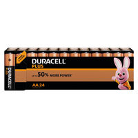 View more details about Duracell Plus AA Batteries, Pack of 24 - 81275383