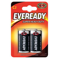 View more details about Eveready Super Battery Size C, Pack of 2 - R14B2UP