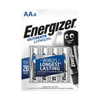 View more details about Energizer E2 Lithium Batteries AA - 626264