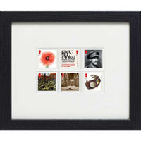 The Great War 1918 Framed Stamps - N3131