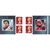 1st Class Stamps x 6 Pack - (Postage Stamp Book) - Star Wars