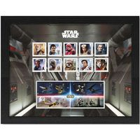 View more details about The Star Wars Framed Stamp and Miniature Sheet Set