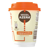 Nescafe Azera To Go Cappuccino Cups and Lids (Pack of 6) 12347873