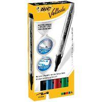 Bic Velleda Assorted Liquid Drywipe Marker Pens (Pack of 4) - 902094