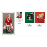 Football Heroes Sir Bobby Charlton Stamps First Day Cover - BC463C