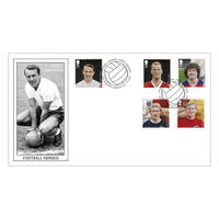 Football Heroes Jimmy Greaves Stamps First Day Cover - BC463B