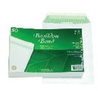 Basildon Bond C5 Peel and Seal Pocket Envelopes 120gsm, Pack of 50 - JDB80277