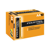 Duracell AA Industrial Batteries, Pack of 10 - 81452400