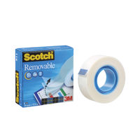 Scotch Tape - 19mm x 33m Removable Tape - 8111933