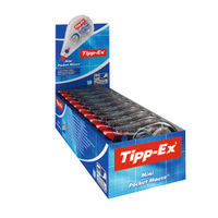 Tipp-Ex Mini Pocket Mouse Corrector, Pack of 10 - 89209 812878