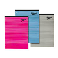 View more details about Pukka Pads Assorted A4 Feint Ruled Refill Pad, Pack of 15 - URP80