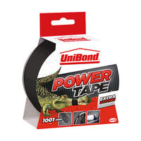 Unibond Black 50mm x 25m Power Tape - 1668019