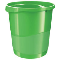 View more details about Rexel Choices Waste Bin Green 2115621