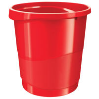View more details about Rexel Choices Red Waste Bin - 2115618