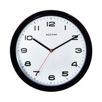 View more details about Acctim Aylesbury Black Wall Clock - 92/302