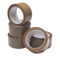 Buff 50mm x 66m Packaging Tapes, Pack of 6 - WX27010