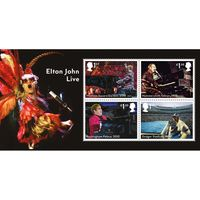 The Elton John Miniature Sheet