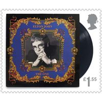 £1.55 Stamps x48 (Self Adhesive Stamp Sheet) - Elton John