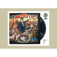 The Elton John Stamp Card Pack