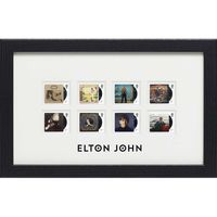 The Elton John Framed Stamp Set