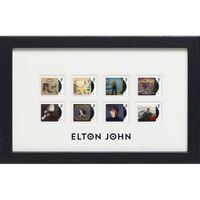 View more details about The Elton John Framed Stamp Set