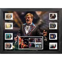 Elton John Framed Stamp and Miniature Sheet Set