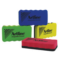 View more details about Artline Smiley Whiteboard Eraser Assorted (Pack of 4) ERT-mmS-GB4