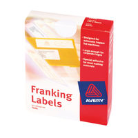 Avery White Franking Labels, Pack of 1000<TAG>TOPSELLER</TAG>