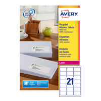 Avery White QuickPEEL Laser Address Labels 63.5 x 38.1mm (Pack of 2100) - AV815