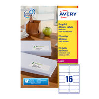 Avery QuickPEEL Recycled Laser Address Labels 99.1x 33.9mm, Pk of 1600 - AV81506