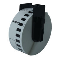 Brother P-Touch White 29mm x 30.48m Paper Tape DK-22210
