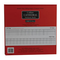 Collins Cathedral Petty Cash Book, 7 Debit 14 Credit Columns  - 812150/8