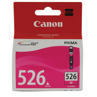 View more details about Canon CLI-526M Magenta Ink Cartridge - 4542B001