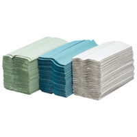 View more details about Maxima Green C-Fold Hand Towel 1-Ply Green Pk92x15 KMAX5053
