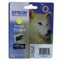 Epson T0964 Yellow Ink Cartridge - C13T09644010