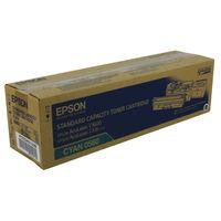 Epson C1600 Cyan Toner Cartridge - C13S050560