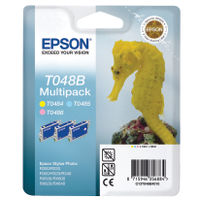 Epson T0487 Black and Colour Ink Cartridge Multipack - C13T04874010