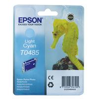 Epson T0485 Light Cyan Ink Cartridge - C13T04854010
